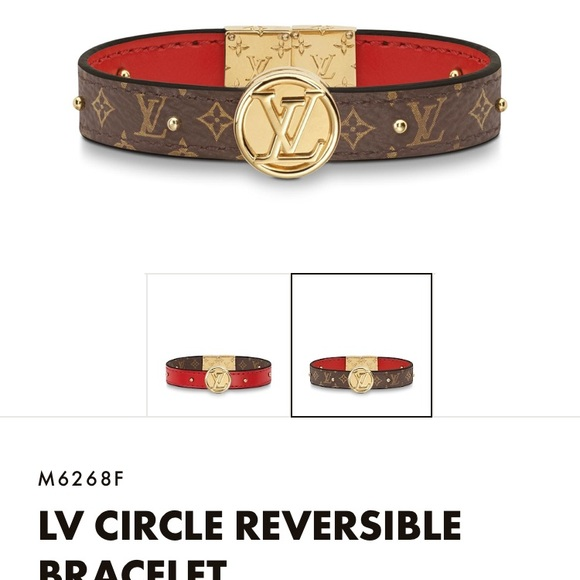 1847c812a21 Louis Vuitton Bracelet- reversible NWT